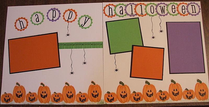 12X12 Happy Halloween