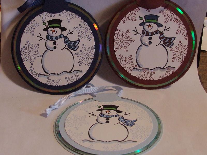 CD ornaments