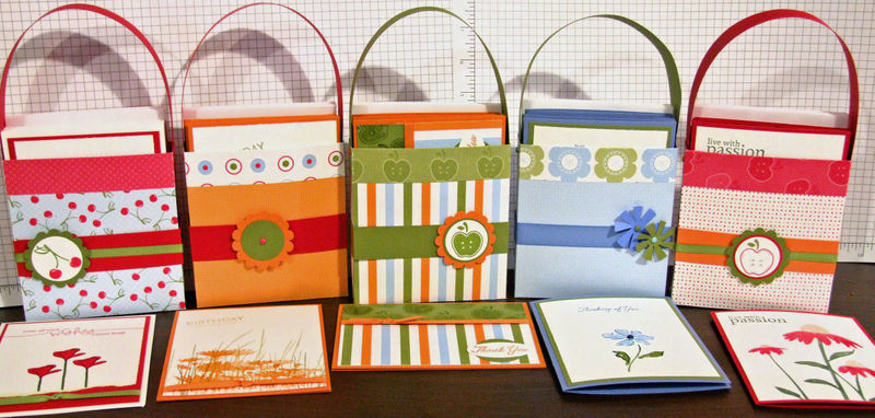Bags with cards