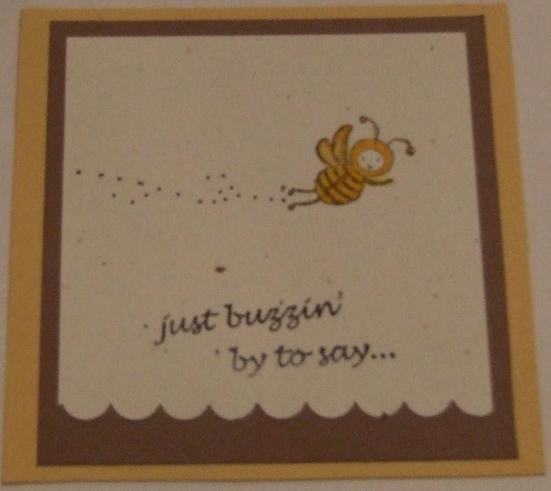 Just buzzin
