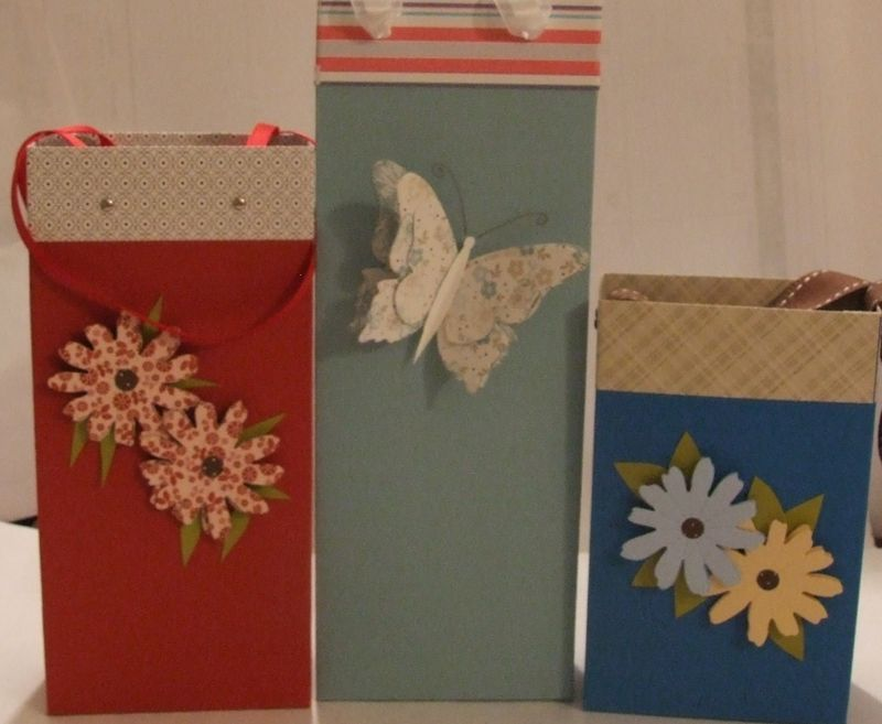 3 sizes of gift bags