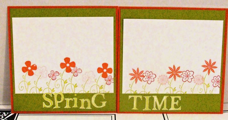 Spring time 6x6