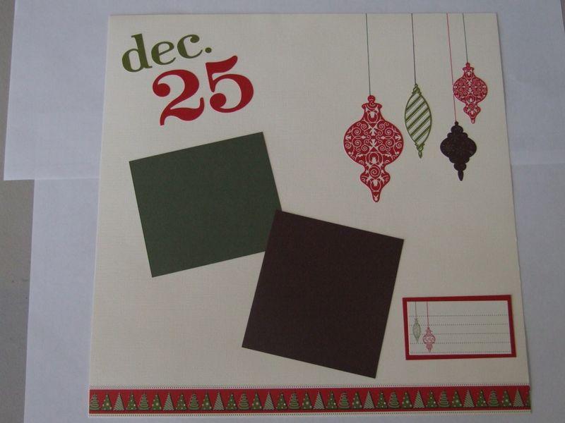 12x12 scrapbook page