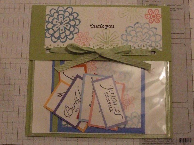 Card kit birthday