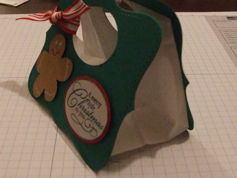 Christmas treat bag