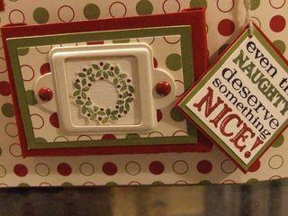 Close up of Christmas bag