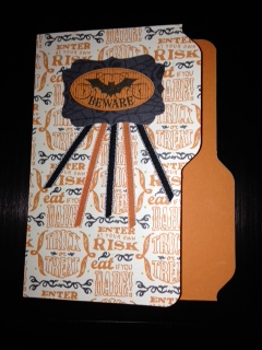 Blog halloween file folder card closed